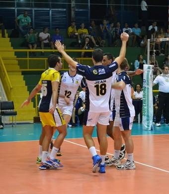 São José Vôlei Superliga B (Foto: Zaia Comunicação / São José Vôlei)