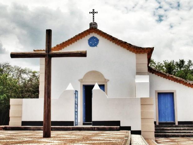 Vale esta!!!!Igreja de Nossa Senhora de Guadalupe, na Ilha dos Frades, na Bahia. (Foto: Maiana Belo/G1 BA)