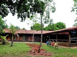 Biblioteca do Cerrado, localizada no Parque da Cidade Dona Sarah Kubitschek (Foto: Tony Winston/Agência Brasília)