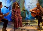 Gilberto Gil, Gal Costa e Nando Reis fazem prévia da turnê Trinca de Ases