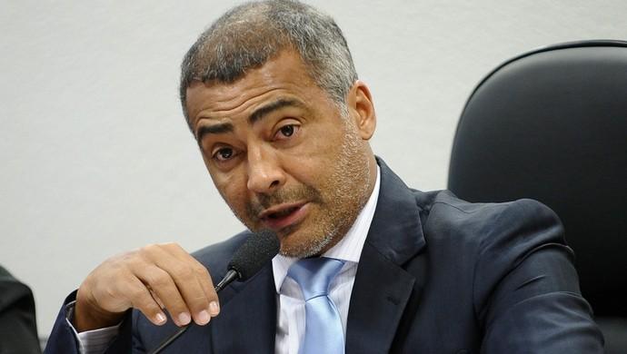 Romário ex-jogador senador PSB (Foto: Marcos Oliveira/Agência Senado)