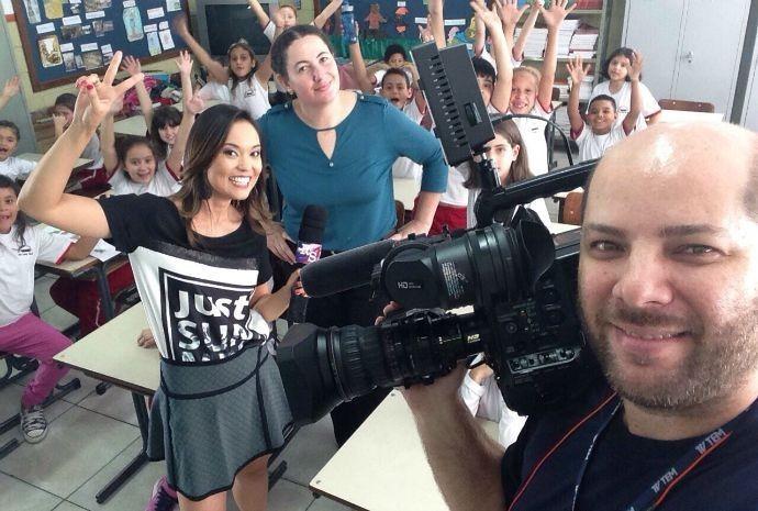 Revista de Sábado foi até Botucatu para conhecer um dos projetos apoiados pelo Criança Esperança (Foto: Reprodução/TV TEM)