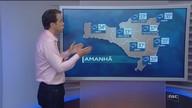 Veja como ficará o tempo em todas as regiões de SC nesta quarta-feira (24)