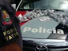 PM apreende quase cinco quilos de maconha em Jundiaí