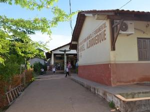 Escola Municipal de Santarém (Foto: Luana Leão/G1)