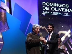 Melhor Trilha Musical foi para Domingos Oliveira, com Barata Ribeiro, 716 (Foto: Cleiton Thiele/Pressphoto)
