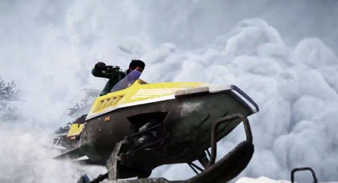 Far Cry 4: Novo trailer mostra os perigos de Kyrat, inclusive avalanches. (Foto: Reprodução/YouTube)