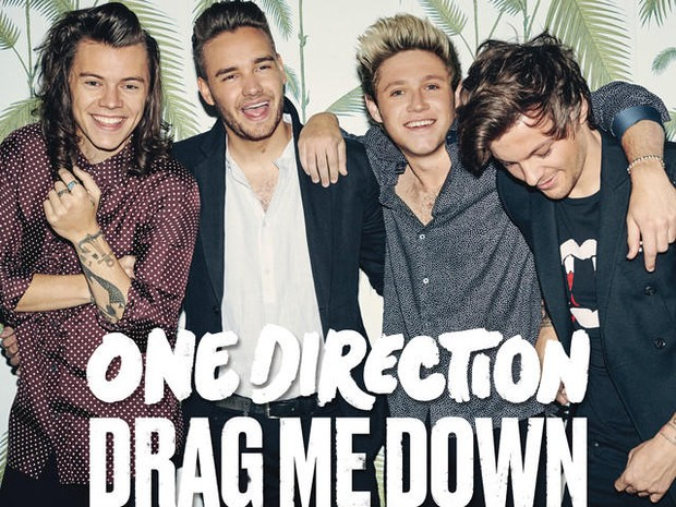 Capa do single 'Drag me down', do One Direction (Foto: Divulgação)