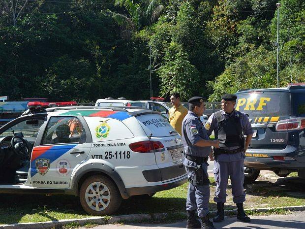 No Amazonas e Rio de Janeiro a ação está servindo como um projeto de segurança para os Jogos Olímpicos 2016 (Foto: Felipe Rodrigues/SSP-AM)