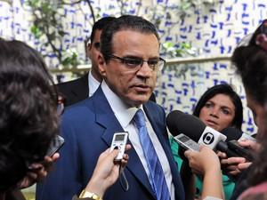 O presidente da Câmara, deputado Henrique Alves (PMDB-RN) (Foto: Ananda Borges / Câmara dos Deputados)