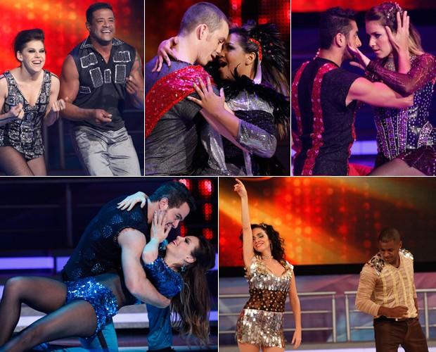 Dança dos Famosos (Foto: Domingão do Faustão / TV Globo)