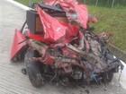 Jovem morre em acidente entre carro e caminhão no Norte de SC