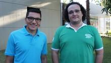 Lucas Barros e Phelipe Caldas contam experiência da Rio 2016 (Juliana Miranda/TV Cabo Branco)