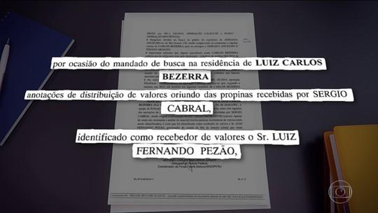 Relatório da PF mostra indícios de propina para Pezão, governador do RJ