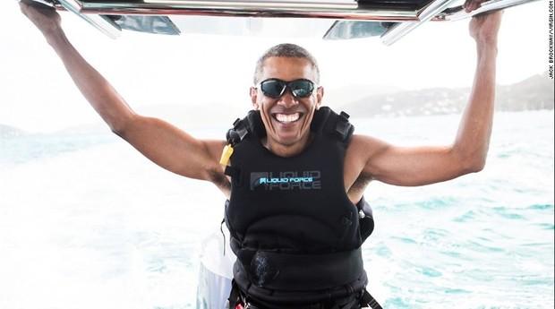 Obama, Surf, Kiteboard (Foto: Virgin/Divulgação)