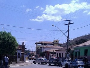 Agência dos Correios fica no Centro da cidade de Cantagalo (Foto: Divulgação/PM)