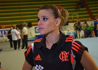 Jade Barbosa foi o destaque da equipe do Flamengo (Foto: Felipe Martins)