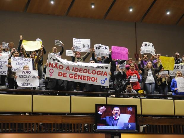 Votação plano estadual de educação Assembleia RS (Foto: Marcelo Bertani/Agência ALRS)