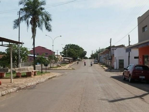 Estrela do Norte, em Goiás (Foto: Reprodução/TV Anhanguera)