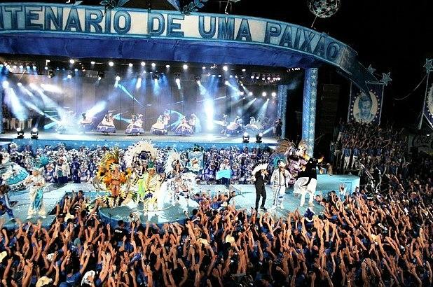 A festa contou com a presença de cerca de 7 mil amantes do boi azul  (Foto: Adneison Severiano G1/ AM)