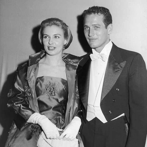 Paul Newman e sua esposa, a também atriz Joanne Woodward (Foto: Getty Images)