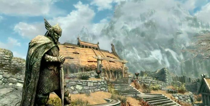 Skyrim E3 (Foto: Divulgação/Bethesda)