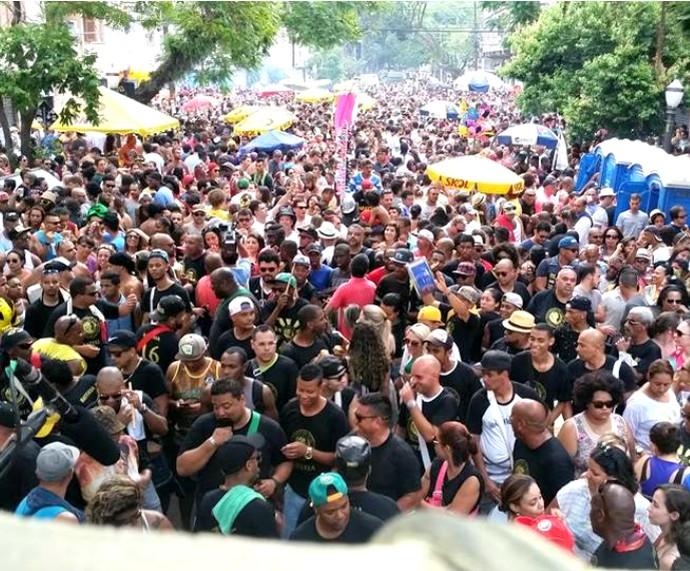 Bloco Do Jeito Que Tá Vai abriu o Carnaval de Rua no último dia 23 de janeiro (Foto: Divulgação/Bloco Do Jeito Que Tá Vai)