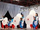 Festival de dança e música Yosakoi Soran celebra a agricultura e a pesca