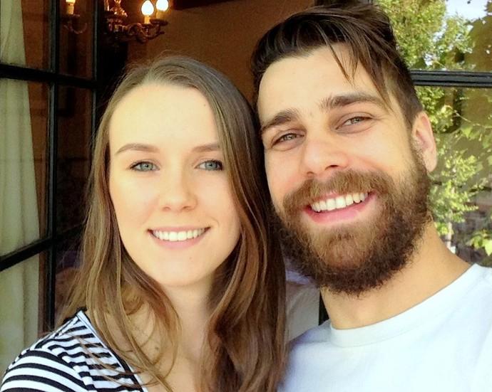 Sofia e Raynê namoram há quase sete anos (Foto: Arquivo Pessoal)