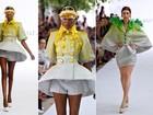 Grife On Aura Tout Vu apresenta coleção surrealista e colorida semana de moda de alta-costura de Paris