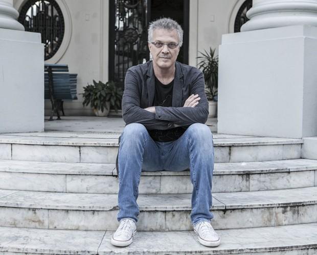 Pedro Bial fala sobre seus principais poetas em entrevista exclusiva (Foto: Inácio Moraes / Gshow)