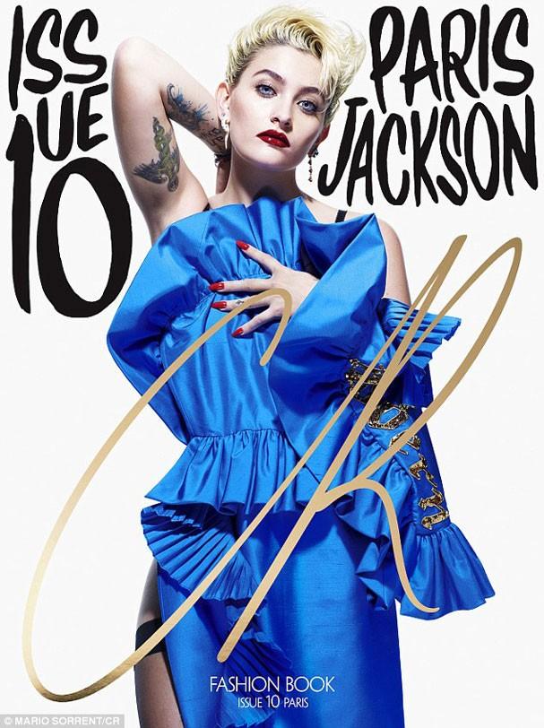 Paris Jackson na capa da décima edição da CR Fashion Book, da editora Carine Roitfeld (Foto: Divulgação )