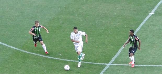América-mg e Palmeiras (Foto: Rafael Araújo)