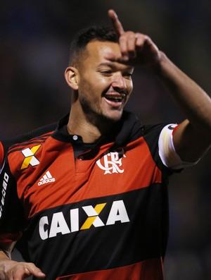 Palestino x Flamengo  Roberto Gutiérrez  Réver Sul-Americana (Foto: EFE)