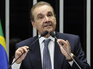 O senador José Agripino Maia (RN), presidente do DEM (Foto: Pedro França/Ag.Senado)