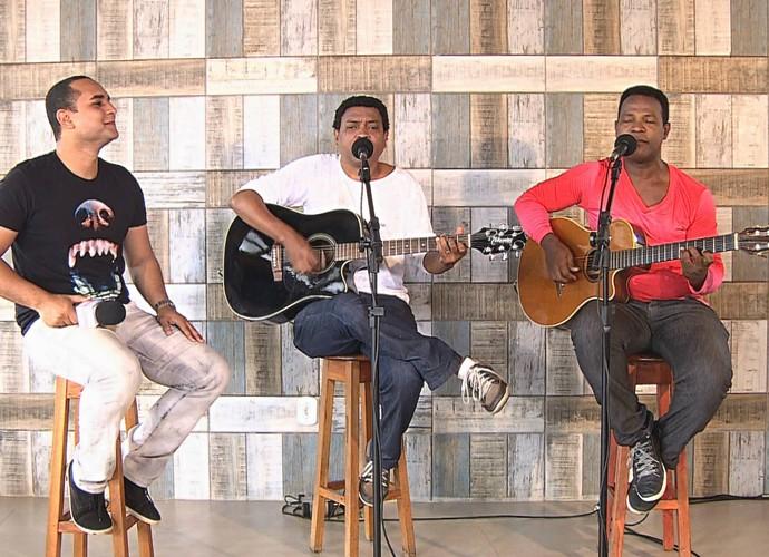 Dupla Chiko Queiroga e Antôio Rogério (Foto: TV SERGIPE)