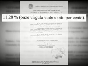 Reajuste de salários virou polêmica em Conceição dos Ouros (Foto: Reprodução EPTV)