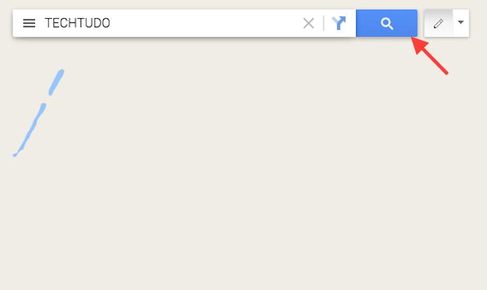 Iniciando utilizando um termo definido pela pesquisa escrita do Google Maps (Foto: Reprodução/Marvin Costa)