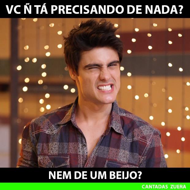 Tá precisando de alguma coisa? (Foto: Malhação / TV Globo)