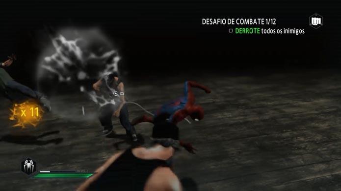 The Amazing Spider-Man 2: aprenda a jogar os desafios de combate (Foto: Reprodução/Murilo Molina)