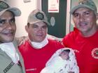 Jovem dá à luz em casa com ajuda de bombeiros em Iguatu, no Ceará