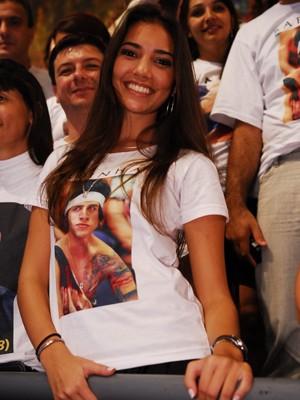 Luisa na final do BBB8 (Foto: Globo / Kiko Cabral)