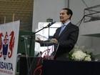 Médium Divaldo Franco faz palestra e reúne milhares de pessoas em Santos
