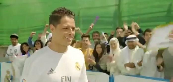 BLOG: Será que ele vai ficar? Chicharito estrela campanha publicitária do Real Madrid