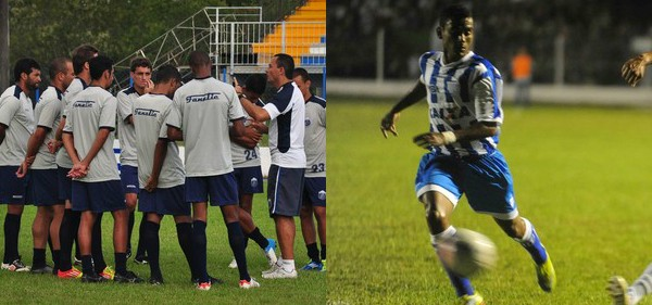 Times se enfrentam no Renato Silveira (Foto: Cristina Estefano/Divulgação Guarani de Palhoça/Paulo Scarduelli/SER Guarani)