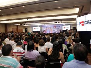 Projeto 'Educar para Transformar' é lançado pelo governo da Bahia (Foto: Alberto Coutinho/GOVBA)