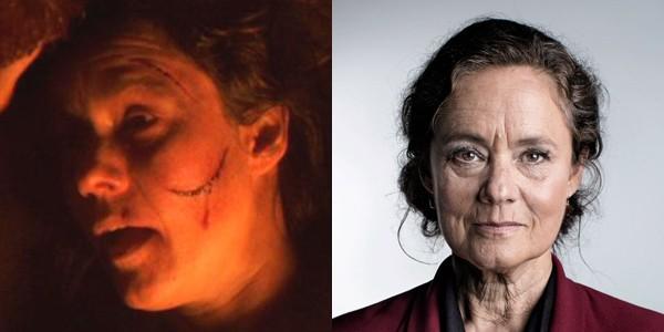 Pernilla August em 2002 e 2017 (Foto: Divulgao)
