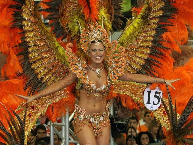 Fantasia de Kamilla Salgado, que venceu o Rainha das Rainhas em 2008, custou R$ 36 mil. (Foto: Cristino Martins/O Liberal)