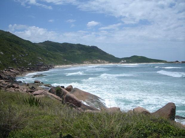 Praia da Galheta, praia de nudismo em SC (Foto: Divulgação/Portal Brasil Naturista)