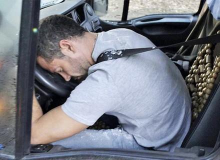 Apolo sofre acidente de caminhão
